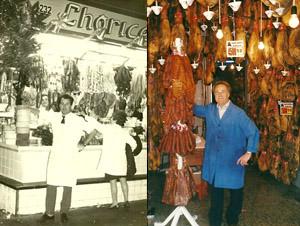 historia de venta de jamón en Barcelona por Antonio Ferrer
