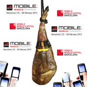 Ya está aquí el Mobile World Congress de Barcelona!!! Visita nuestra tienda de jamón!!!