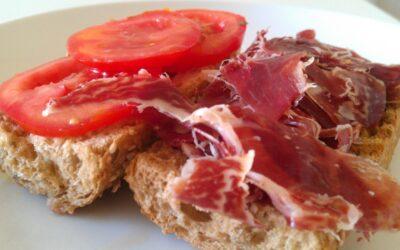 Bellota paleta pão café da manhã cereais…