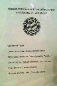 menu pep guardiola bayer munich barcelona