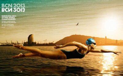 他们开始在巴塞罗那世界游泳锦标赛
