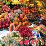 El mercado de la Boqueria de Barcelona en plena ebullición