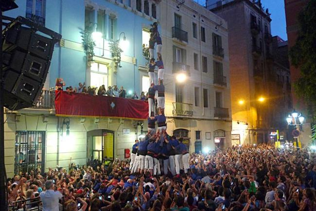 Viviendo las fiestas de Gracia 2013!!!