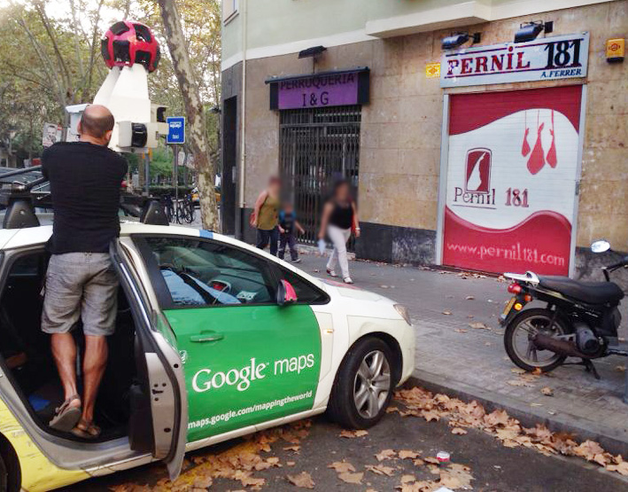 Google Maps in obserba… y Google cumple 15 Jahre alt!!!