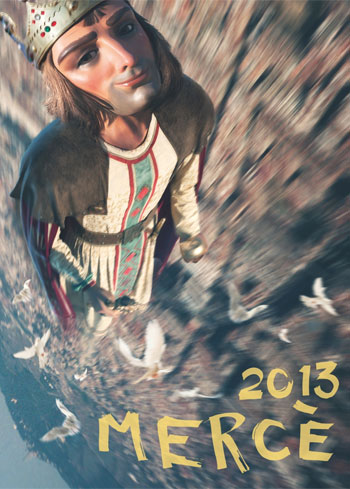 節日德拉梅爾切 2013 巴塞羅那, 費蘭·阿德里亞為pregonero