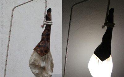 Lâmpada de presunto ibérico, luz saborosa!!!