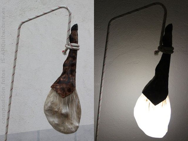 Ibearyske ham lamp, tasty ljocht!!!