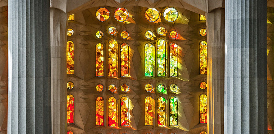 Do not miss the Sagrada Familia in your visit to Barcelona… Not a good ham!!!