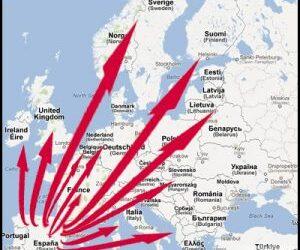 Wij versturen in heel Europa!