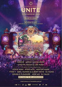 Tomorrowland barcelona 2017