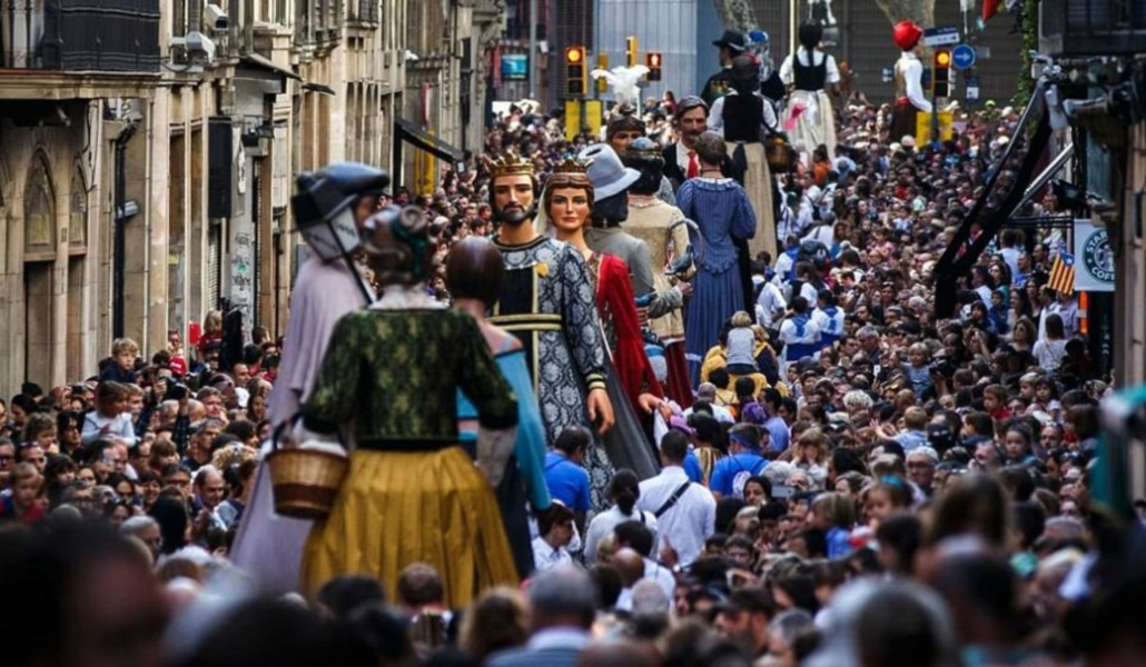 Naudi parimaid Pürenee sink ajal Fiestas de la Mercè