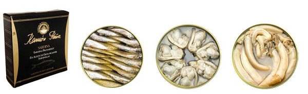 comprar conservas pescado marisco ramón peña